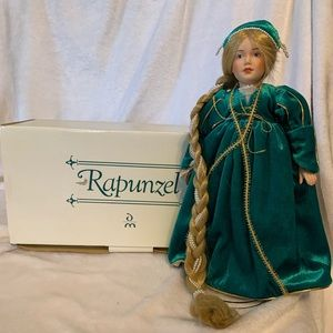 Porcelain Rapunzel Doll